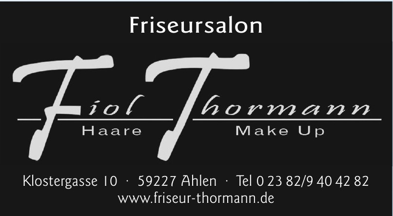 Friseursalon Fiol Thormann