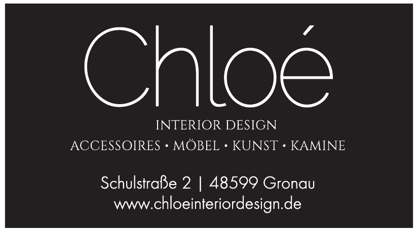 Chloé interior design GmbH & Co. KG
