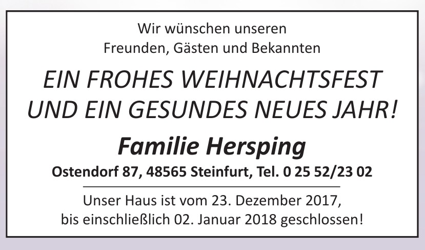 Familie Hersping