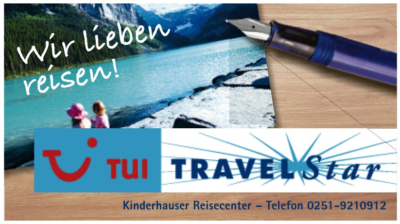 TUI Travel Star - Kinderhauser Reisecenter